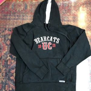 Tops - vintage university of cincinnati sweatshirt
